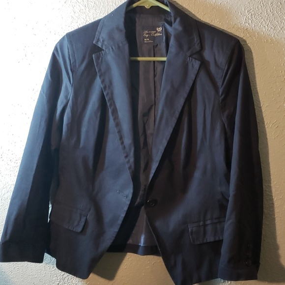 American Eagle Outfitters Jackets & Blazers - Navy Blue super cute blazer American Eagle
